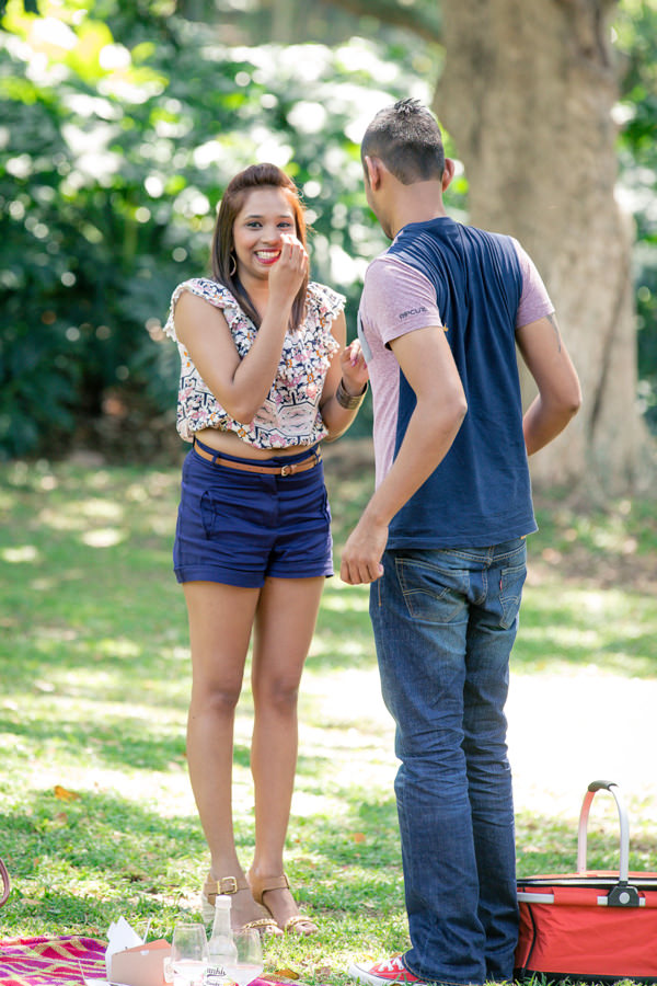 botanic gardens engagement proposal rbadal photography durban