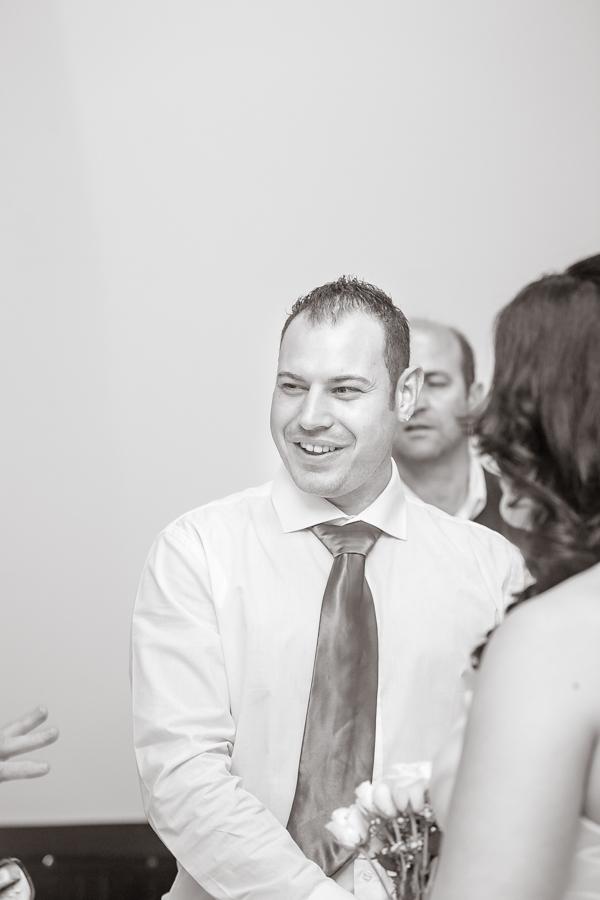 durban wedding photography decor durban north groom smiling