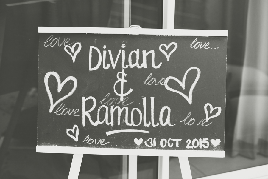 surprise proposal engagement photographs rbadal photography durban signboard chalk