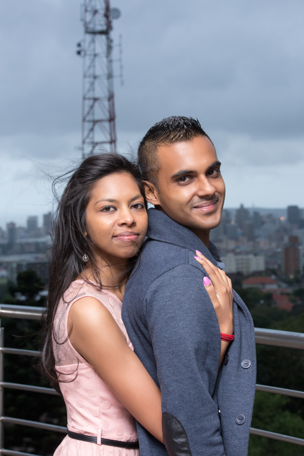 surprise proposal engagement photographs rbadal photography durban hugging