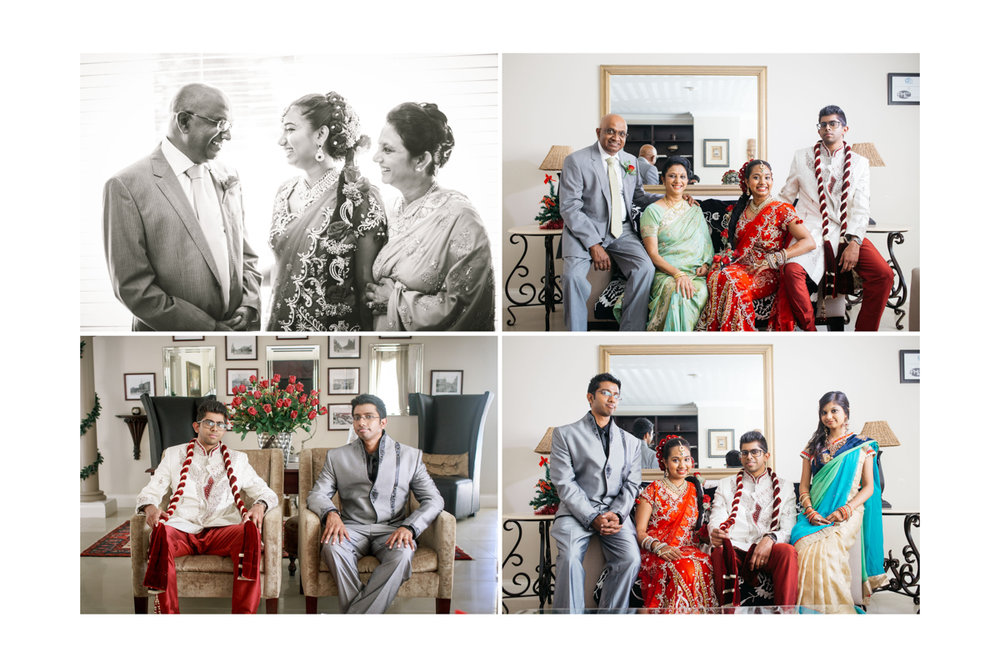 South Indian Tamil Family Durban Wedding RBadal Photography
