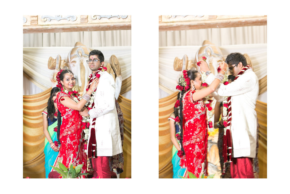 Ceremony Tamil Bride and Groom Durban Wedding RBadal Photography