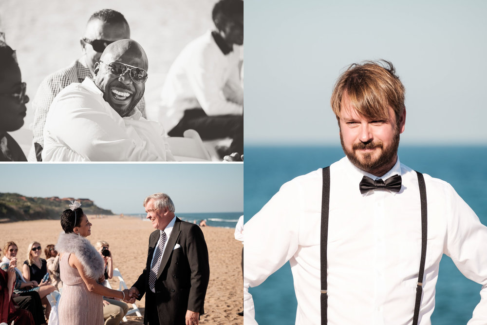 Zimbali Ballito Wedding Photography RBadal beach ceremony