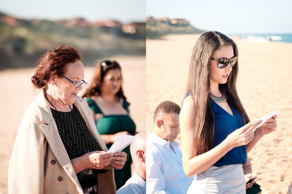 Zimbali Ballito Wedding Photography RBadal beach ceremony