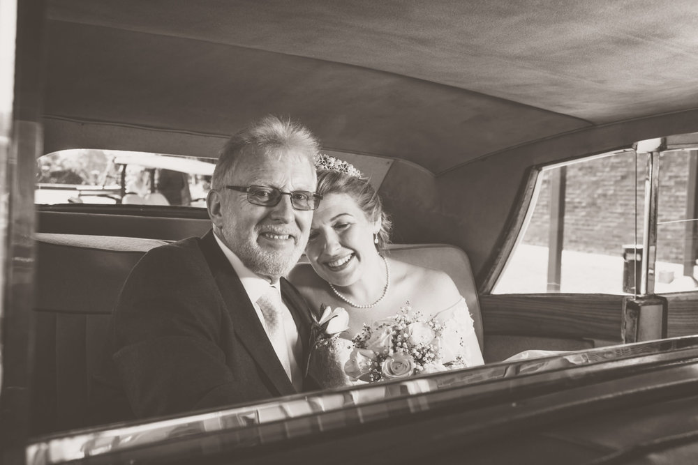 Mount Edgecombe Wedding Photography RBadal golf course bride and father
