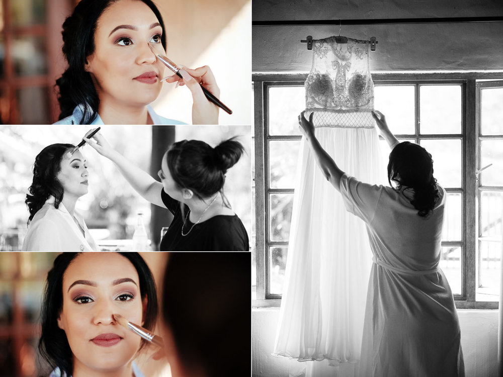 Rain Farm Ballito Wedding Photography rbadal bride getting ready