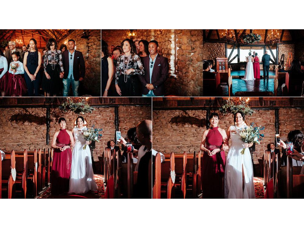 Rain Farm Ballito Wedding Photography rbadal church ceremony