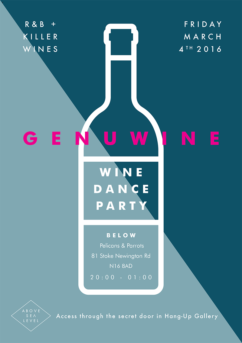 Above Sea Level Genuwine Event Invitation