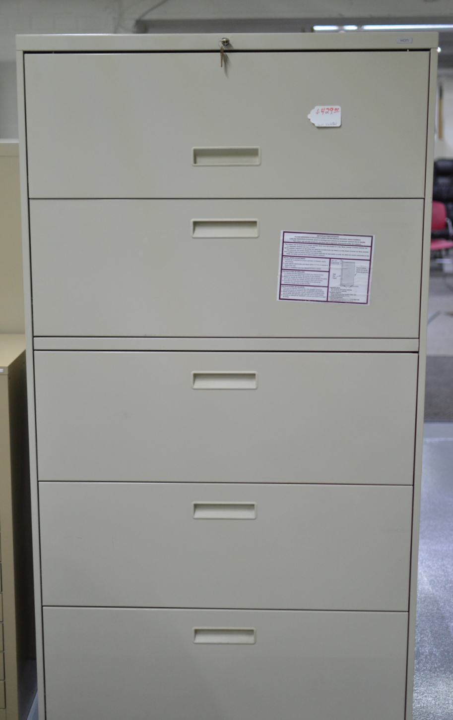 5 Drawer Lateral Files $389 - $449  Many to chose from!