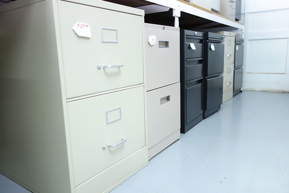 2 Drawer files are marked $59-79
