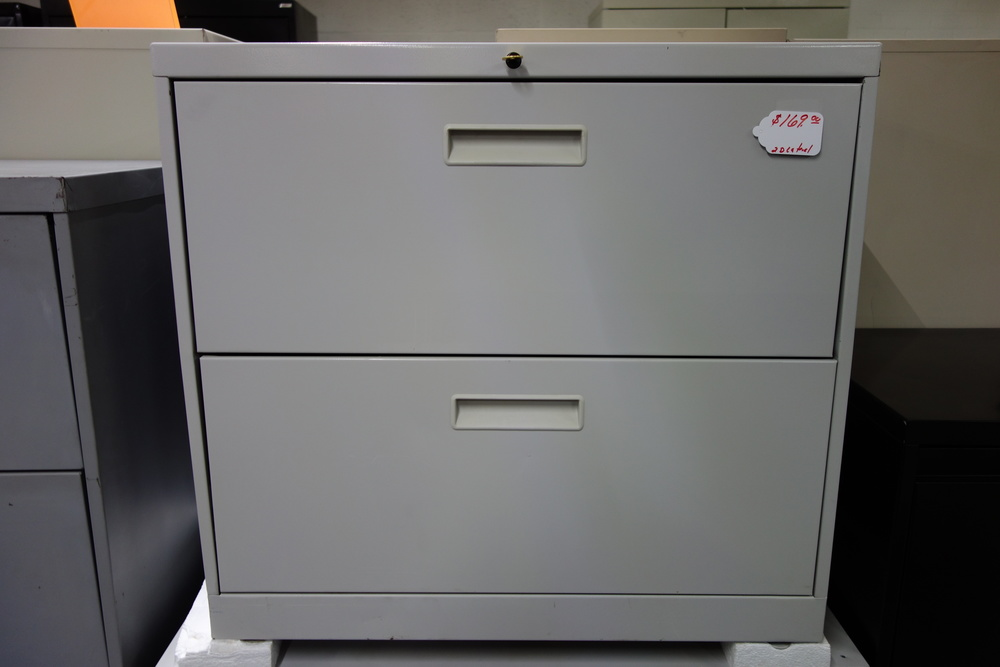 2 Drawer Lateral file - $169