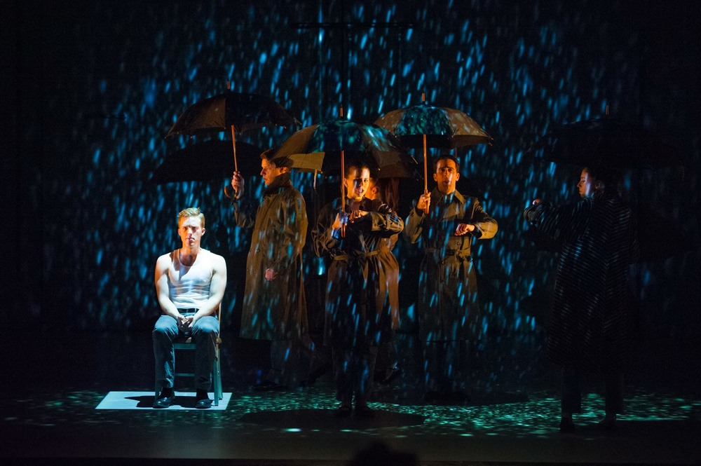 Hydrogen Jukebox  (Assistant Director) - Skylight Music Theatre, 2014 Pictured: Dan Kempson, Benjamin Robinson, Erica Schuller, Kristen DiNinno, Michael Scarcelle, Megan Williams Photo: Mark Frohna