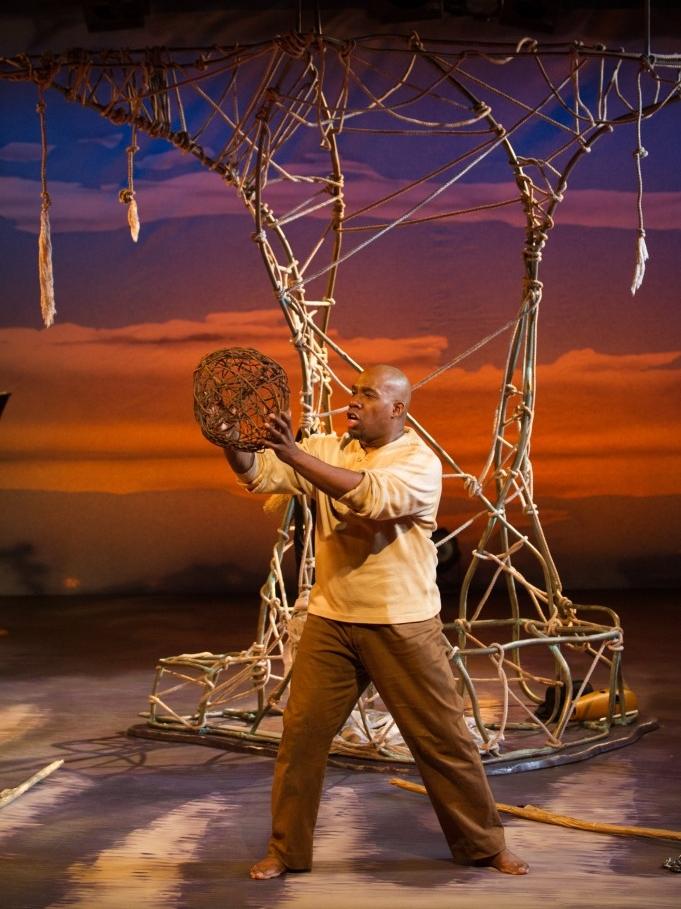 El Cimarrón  (Assistant Director) - Skylight Music Theatre, 2014 Pictured: Eric McKeever (Esteban Montejo) Photo: Mark Frohna