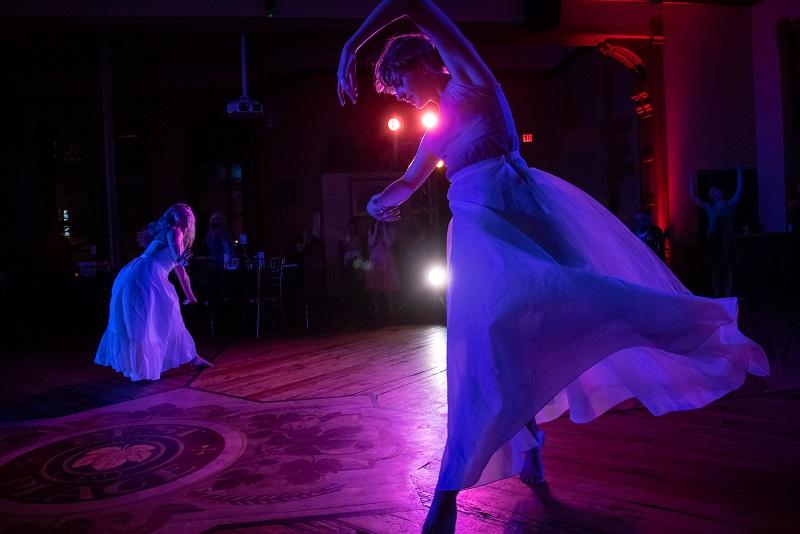 Svadba-Wedding  (Assistant Director)   - Milwaukee Opera Theatre, 2018 Pictured: Kylee Mae Karzen, Maggie Seer (Dancers) Photo: Mark Frohna