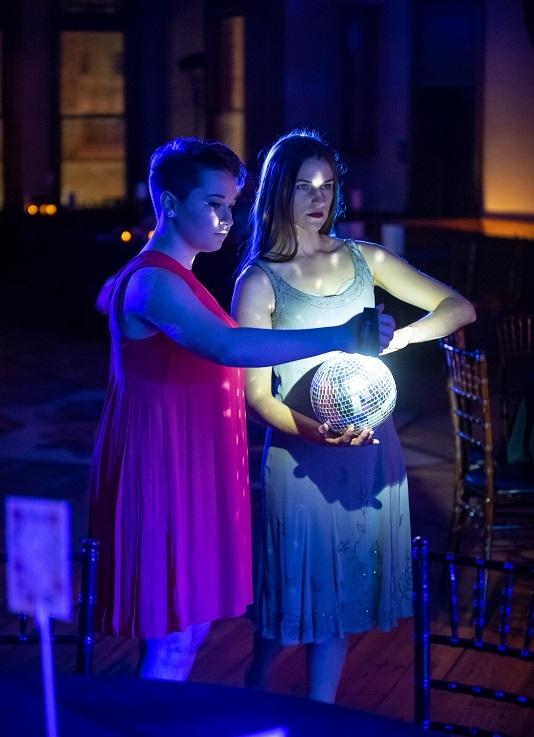 Svadba-Wedding  (Asst. Director)   - Milw. Opera Theatre, 2018 Pictured: Jimmi Renae Weyneth, Danielle Lohuis (Dancers) Photo: Mark Frohna