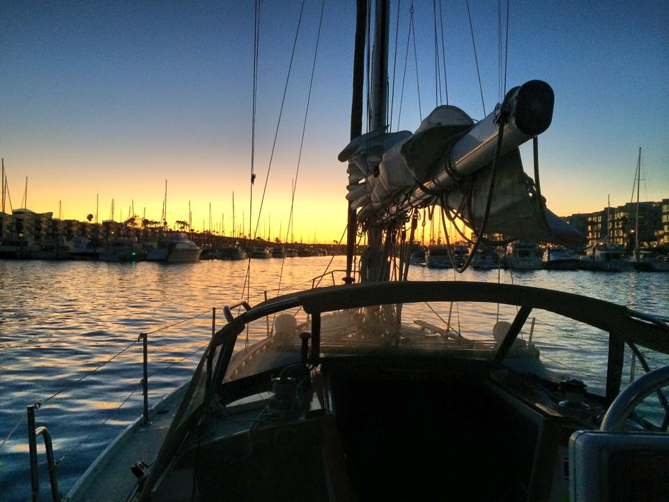 coming home after a blissful sail
