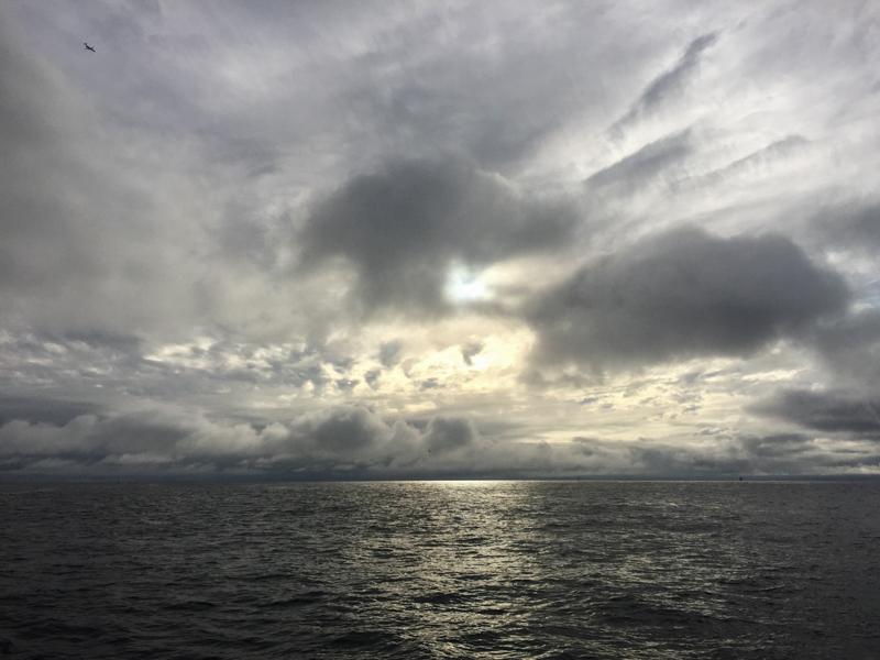 magical pre-sunset light