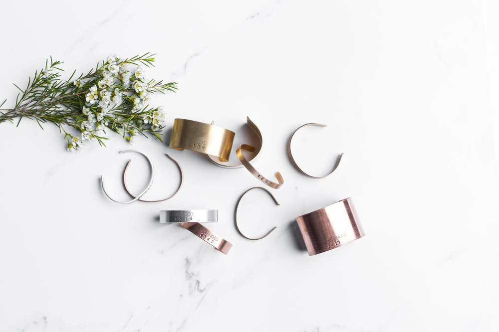 BRANDED COLLECTIVE - The BRANDED Collective employs survivors of human trafficking from Nashville-based non-profit End Slavery Tennessee. BRANDED is an economic empowerment jobs program where the women collaborate with local artisans to design and handcraft the jewelry collection.