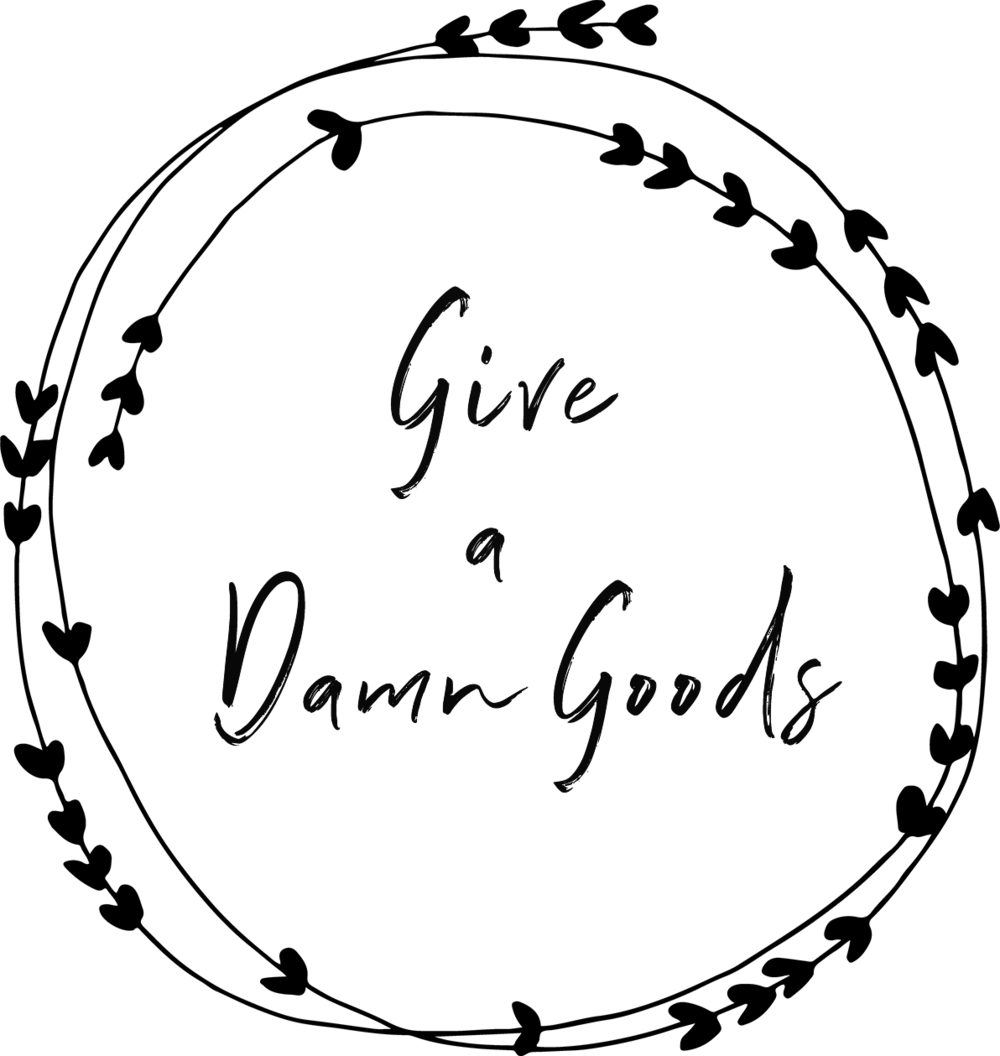 "GIVE A DAMN GOODS - Give a Damn Goods encourages consumers recognize their purchase power. We do this by connecting our customers with the stories of their goods. Give a Damn Goods is a small online boutique of socially responsible goods. Customers can discover affordable ethical clothing, sustainable home goods, gifts that give back, & more. At Give a Damn Goods customers have a unique opportunity to ""shop by cause"" and support causes that are meaningful to their personal values. Give a Damn Goods also has a unique wholesale platform which allows retailers to discover socially responsible brands. Together we can make a difference! It's all about learning & empowering."