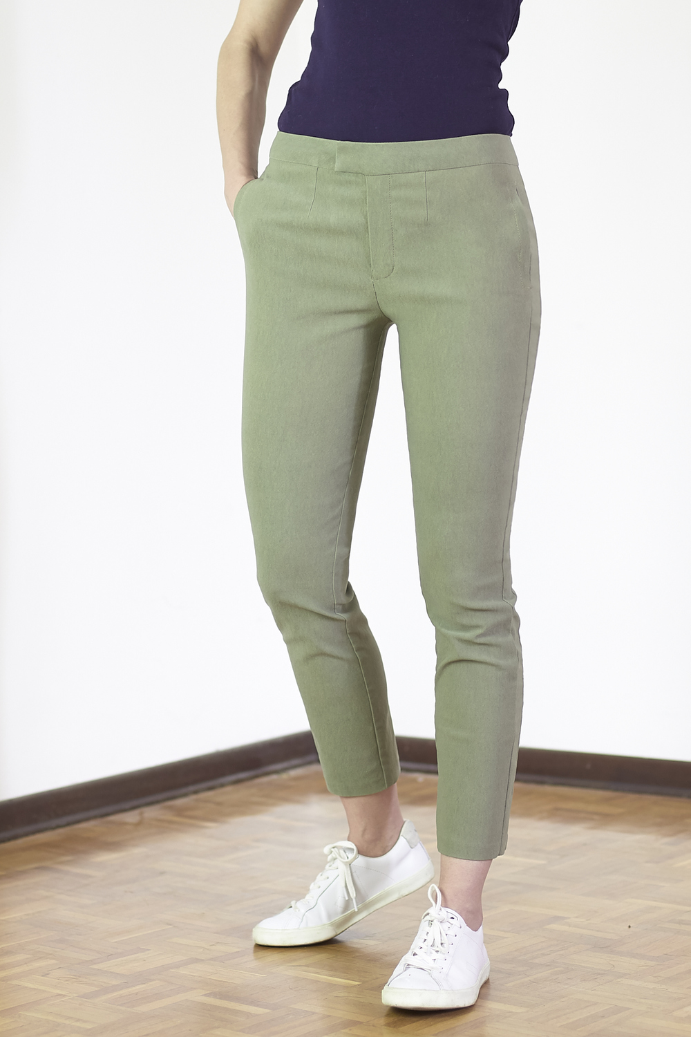 Burda Cropped Trousers
