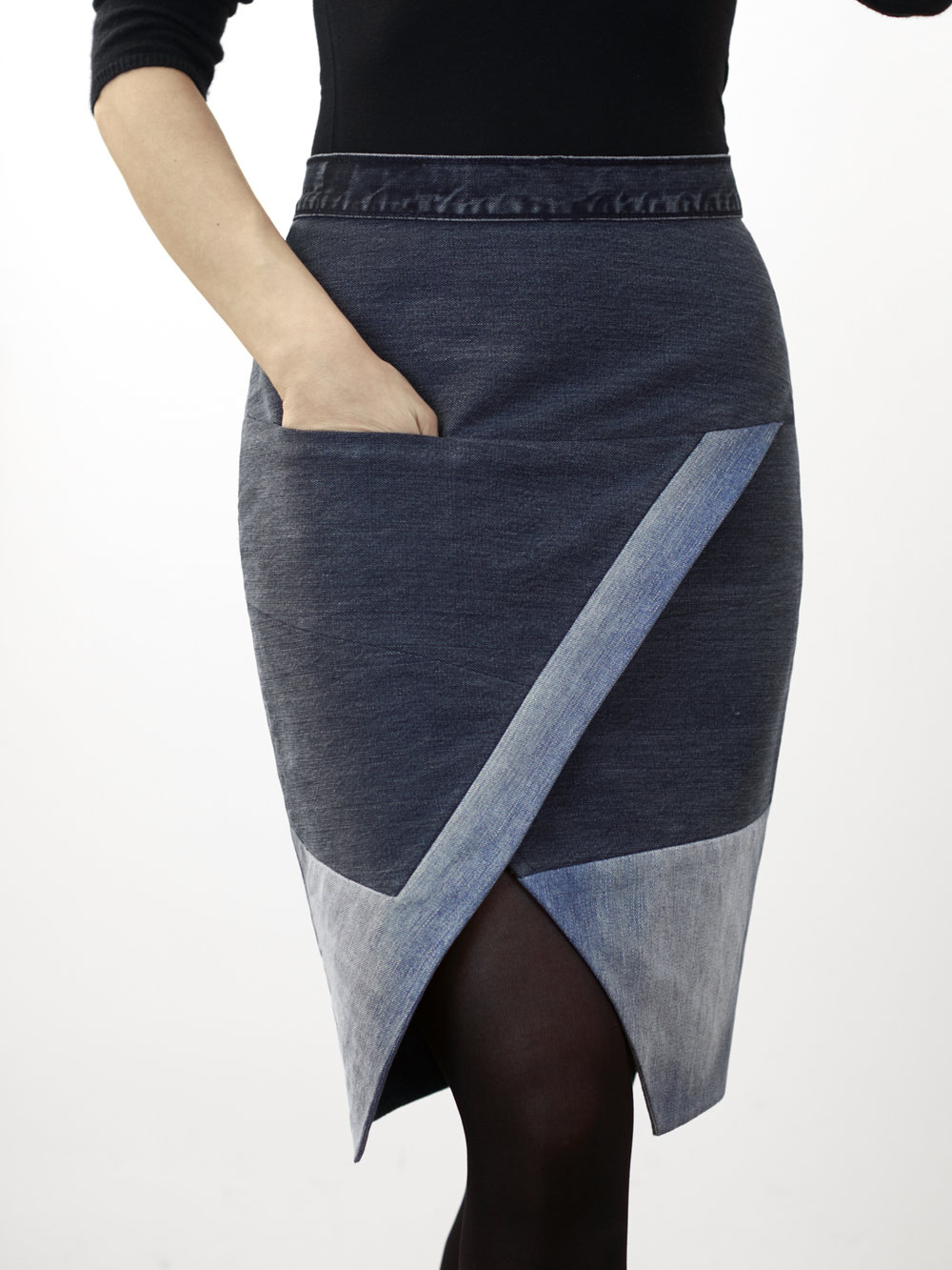 Denim Safor Skirt Pauline Alice