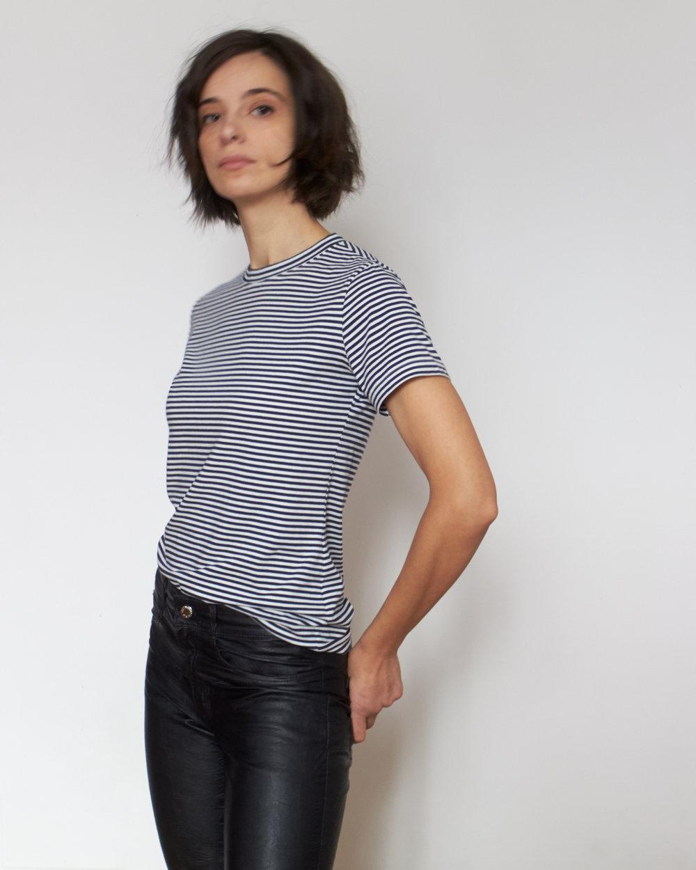 Lebenskleidung stretch GOTS cotton jersey