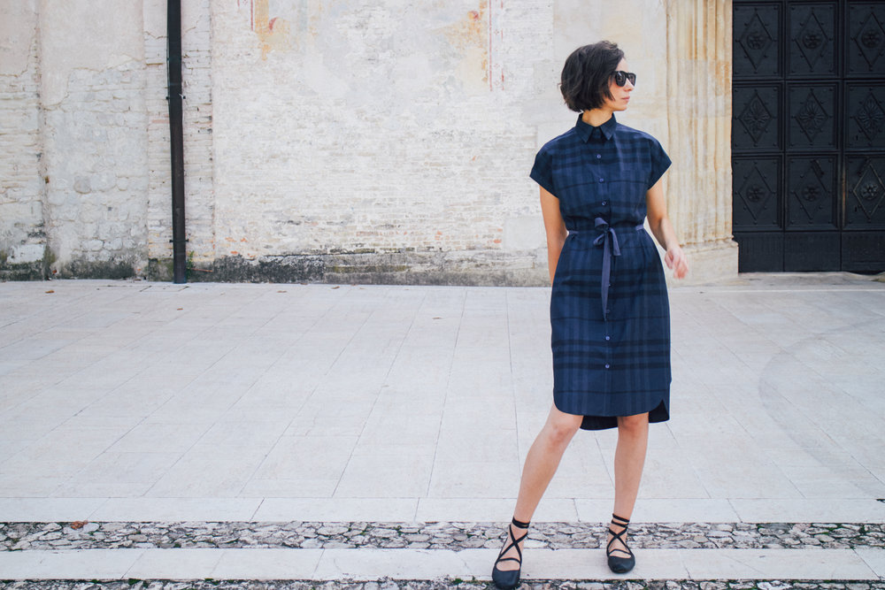 Kalle Shirtdress Pattern