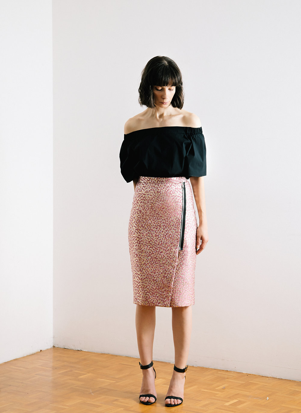DIY Burda skirt