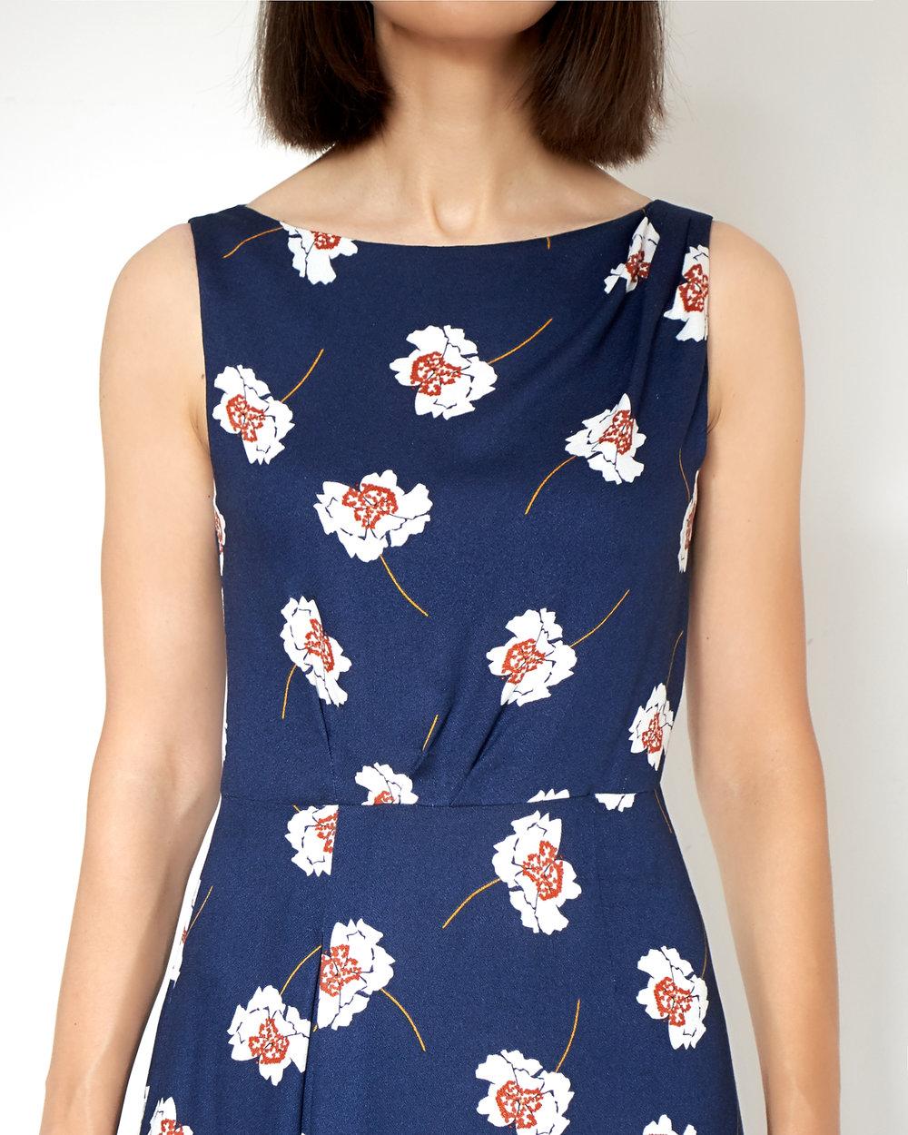 DIY Burda Dress