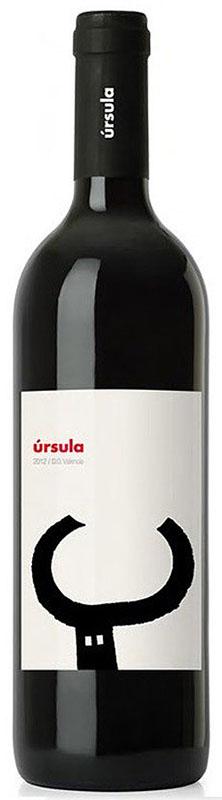 Úrsula 2012 es un vino tinto del año 2012 monovarietal elaborado con la uva autóctona del mediterráneo Monastrell, de la  Denominación de Origen – D.O. de Valencia .Elaborado por la joven bodega y con gran proyección   Costera Alta Wines .