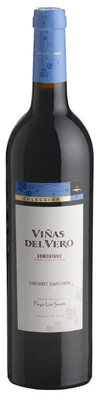 Viñas del Vero Cabernet Sauvignon 2012 es un vino tinto de la Denominación de Origen - D.O. Somontano, de Aragón. Se trata de un vino monovarietal de la Colección Viñas del Vero, elaborado con la variedad de uva foránea Cabernet Sauvignon del año 2007, procedente de un único viñedo, el Pago Los Sasos. El vino ha pasado 10 meses en barricas de roble francés.