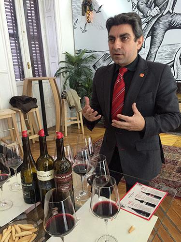 Cata de Vinos de la D.O.Rioja Ramón Bilbao
