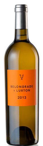 Vino Blanco Belondrade y Lurton 2014 - Denominación de Origen R