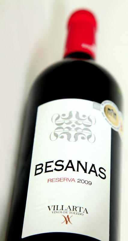 Vino Besanas Reserva 2009 Vinos de Toledo Denominacion de Origen