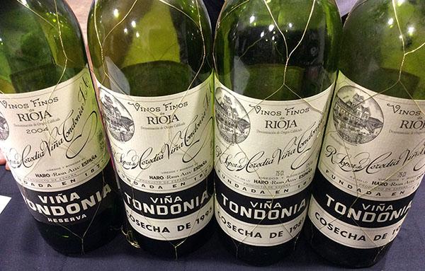 Cata Histórica de Viña Tondonia en Bodega Santa Cecilia - Viñ