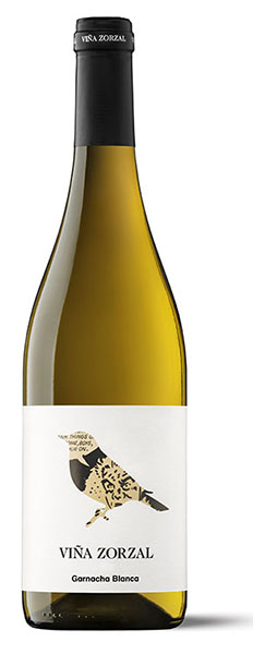 Vino Blanco Viña Zorzal Garnacha Blanca - Denominación de Orig
