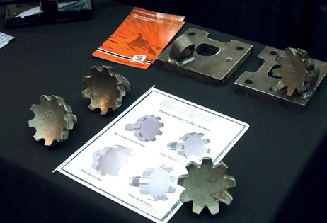 The novel Rolling Wedge cutters from Philippi-Hagenbuch offer major potential for milling applications
