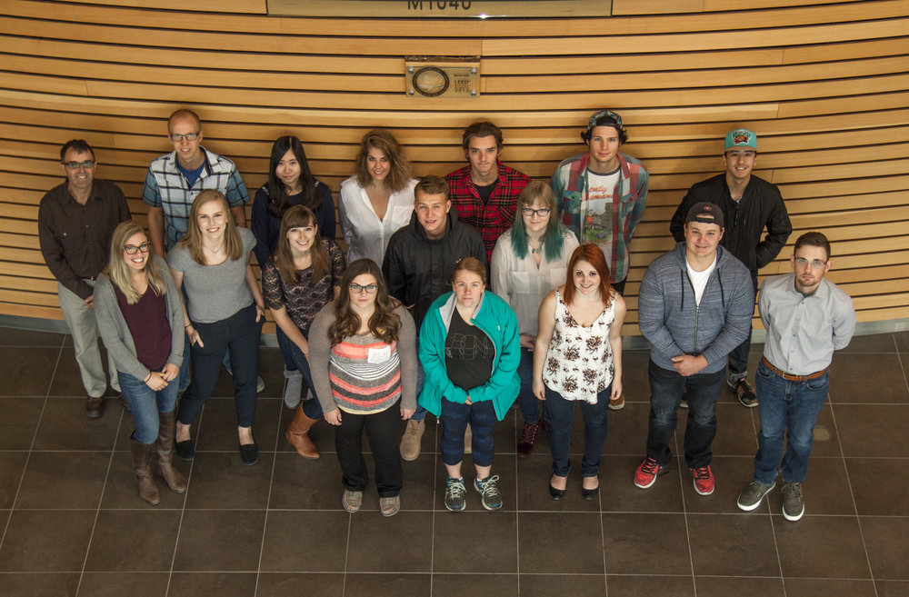 The IME class on the day we took our website photos.