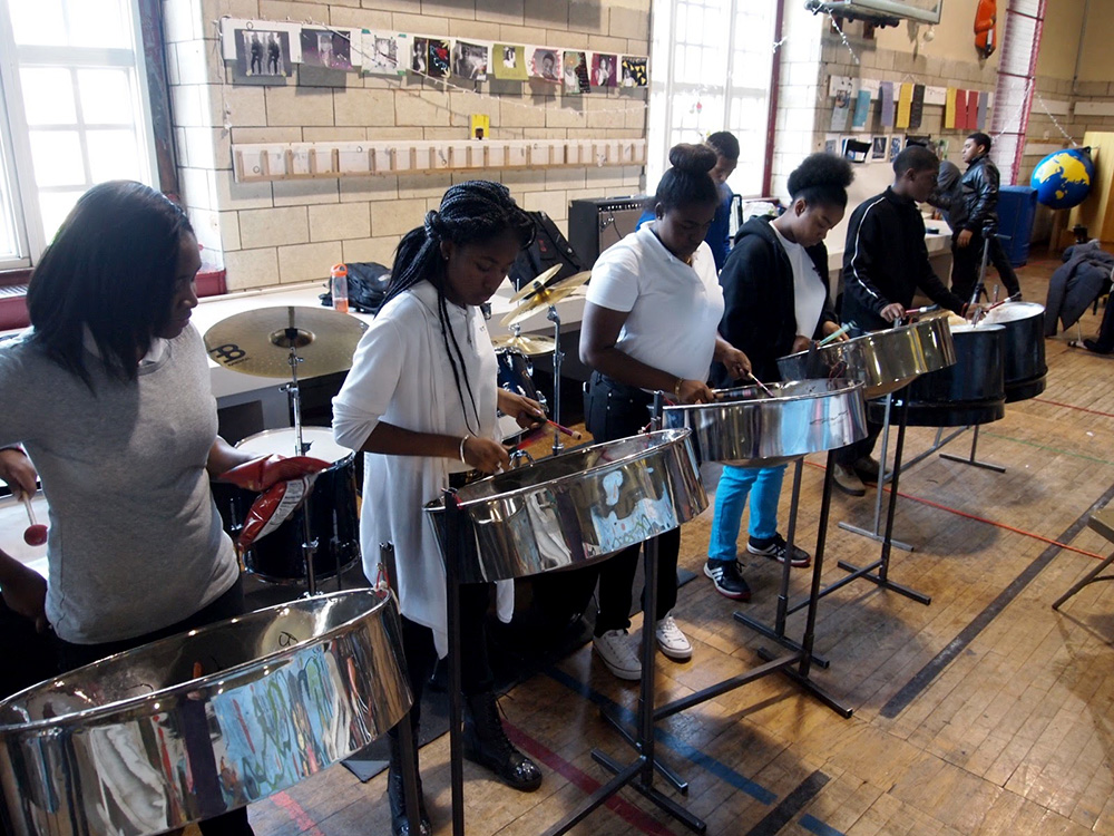 BEAMWORKS STEEL PAN LAB