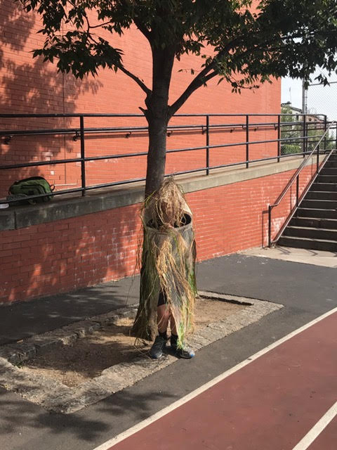 Dazzle ghillie suits