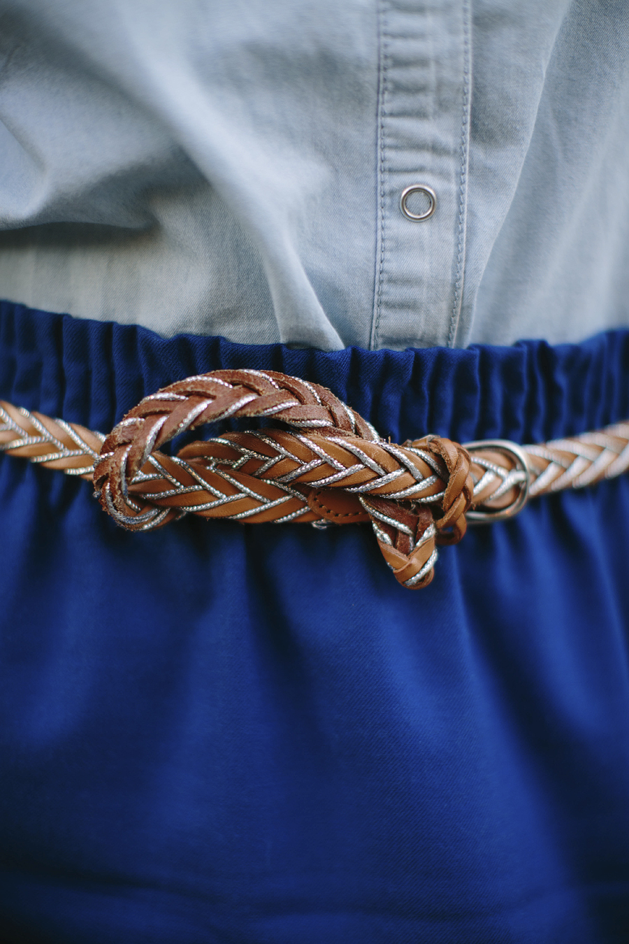 To get this fun looped belt look, see below!