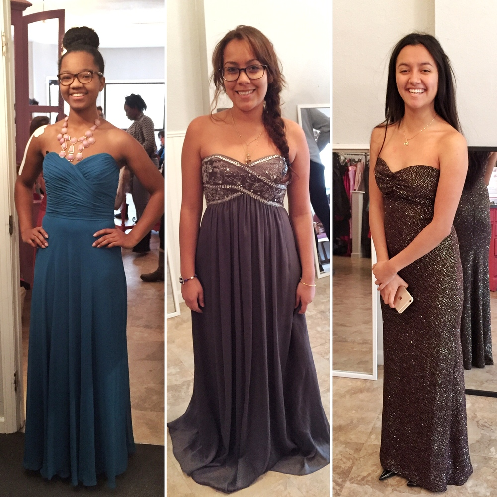 A few other sweet girls from the day who walked out with their dream dresses!