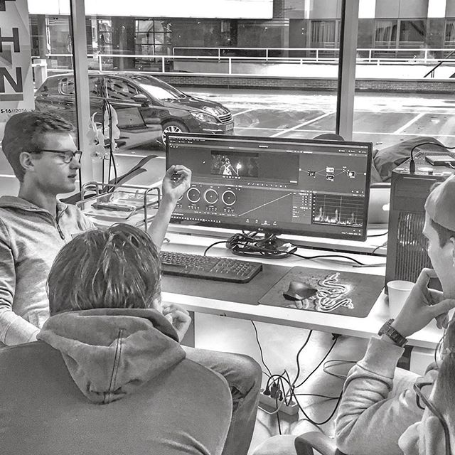 Colorgrading lesson👌🏽💥⚡️ #colors #dji #video #production #office #davinciresolve