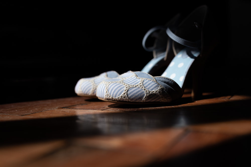 Brides shoes - Wedding Photography