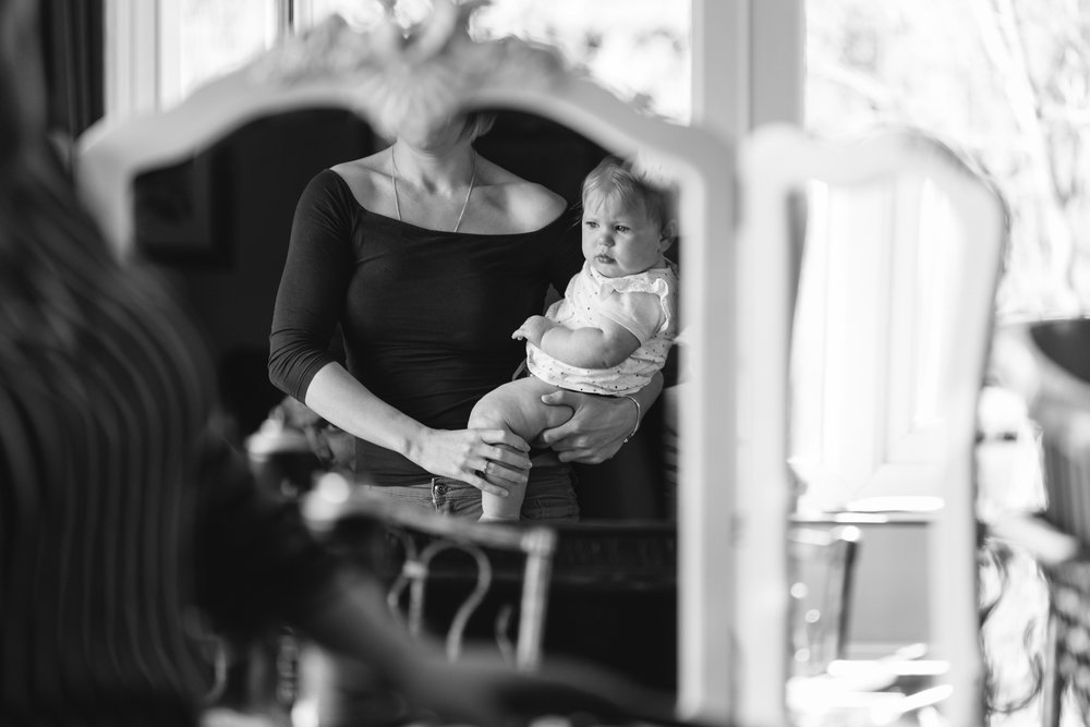 Wedding preparation mother & baby - Wedding Photography