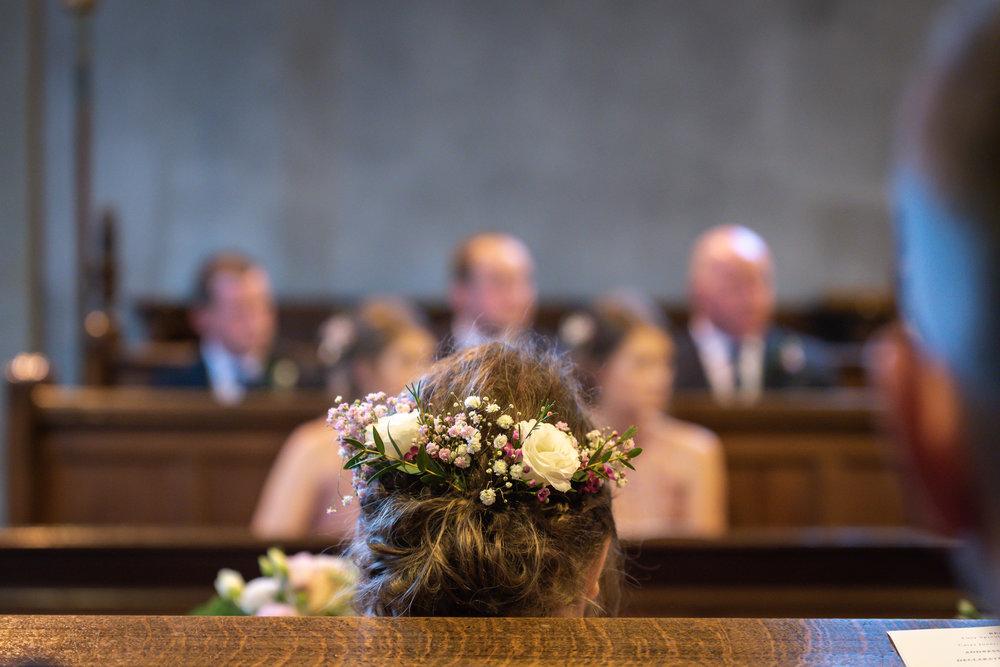 Bridesmaids hair - Powys Wedding Photography