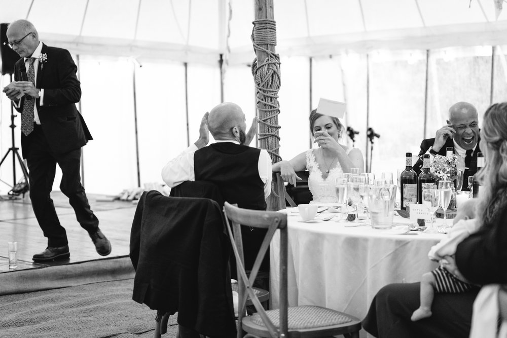 Wedding speeches - Powys Wedding Photography