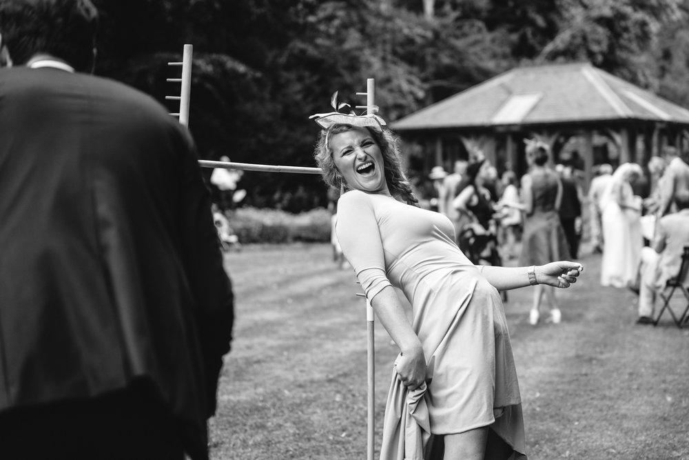 Copy of Limbo at Wedding Reception
