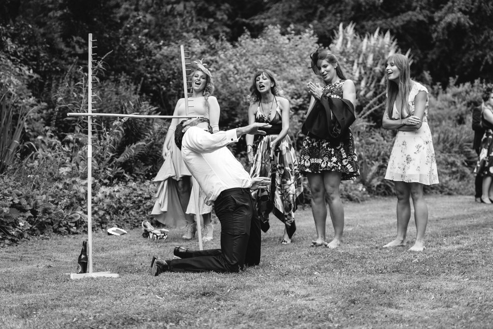 Copy of Guests doing Limbo at Wedding Reception