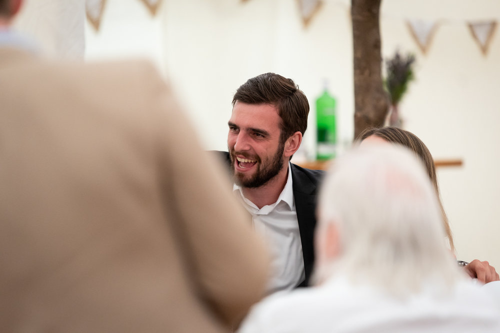 Copy of Wedding Guest during Wedding Speeches